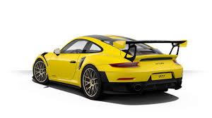 yellow porsche 2018 porsche 911 gt2 rs configurator launched gtspirit