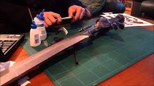 Master Sword Papercraft - hd master sword papercraft timelapse part 6