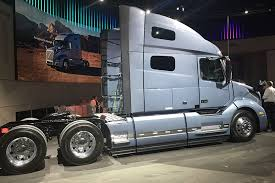 volvo haul trucks for sale volvo unveils redesign of mainstay vnl long haul truck trucks com