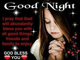good night prayer kids