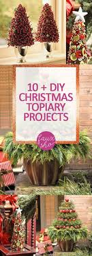 christmas topiary 10 diy christmas topiary projects