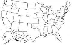 united states including alaska and hawaii blank map images of the map of the united states map of usa