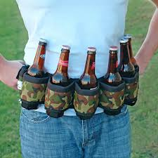 deluxe six pack beer belt holster camo holsters gifts and