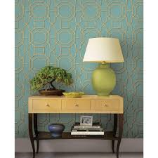 beacon house summer turquoise trellis wallpaper 2669 21737 the