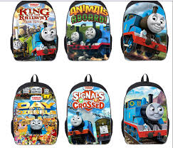 2016 thomas children backpacks cartoon bags thomas train