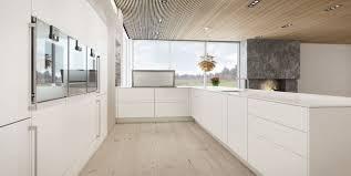 cuisine moderne ouverte sur salon cuisine en u ouverte sur le salon
