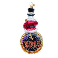 Shiny Brite Halloween Ornaments Radko Ornaments 2018 Dated Christmas Ornament Moments To Midnight