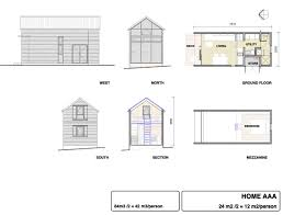 micro compact home floor plan big small home designs