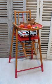 chaise haute en bois b b ancienne chaise haute bebe enfant en bois massif pliante avec