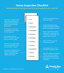 Home Inspection Checklist by Responsibilities In The Mortgage Process Atlantic Bay Mortgage Group