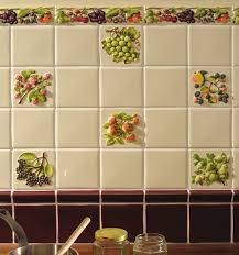 Wall Tiles Design For Kitchen by Brilliant Kitchen Tiles Fruit Design Me Italian Tile Mural