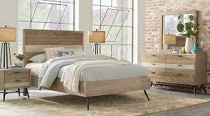 light wood queen bedroom sets pine oak beige cream etc