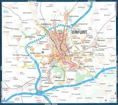 Kassel Germany Map by Guide To Bach Tour Erfurt Maps