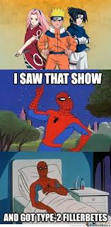 60 Spiderman Memes - nothing against naruto i just love 60 s spiderman by