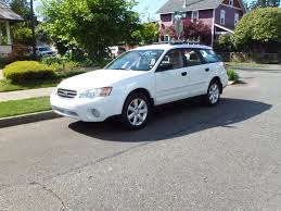 subaru outback white 2006 subaru outback for sale awd auto sales