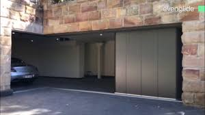 side sectional garage door best 25 sectional garage doors ideas on evenglide side sliding sectional garage door