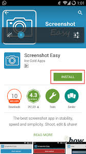 take a screenshot on android phone or tablet devices 2017