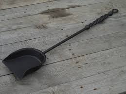 hand forged fireplace shovel wrought iron fireplace tools