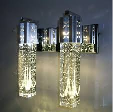 Chandeliers And Mirrors Online Online Cheap New Modern 5w Led Crystal Bubble Wall Lamp Crystal