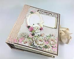 Vintage Wedding Album Vintage Wedding Photo Album Scrapbook Or Guestbook Handmade