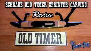 schrade old timer splinter 24ot pocket carving knife review