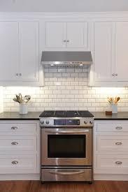 white kitchen tiles ideas bevelled kitchen wall tiles
