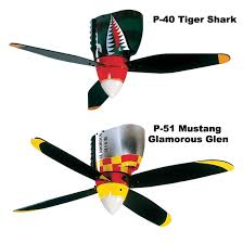 airplane ceiling fan warbird ceiling fans from sporty s pilot shop