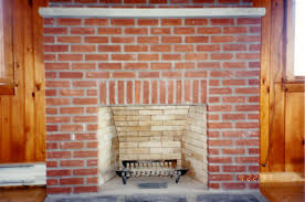 interesting design fireplace brick entracing brick fireplace