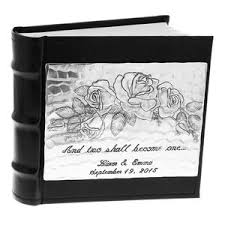personalized wedding photo album photo albums wendell august