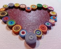 quilled card etsy