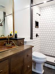 Bathroom With Black Walls Tile With Dark Grout Houzz