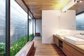 Wall House Master Bathroom  Interior Design Ideas - Organic bathroom design