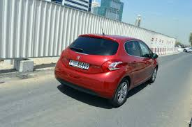 opel uae peugeot 208 review finer points drivemeonline com
