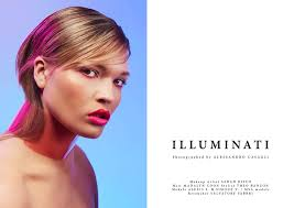 makeup artists in ri illuminati photographed by alessandro casagli makeup artist