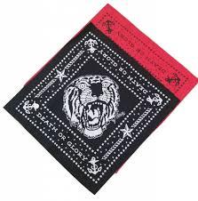 sailor jerry tiger bandana 100 cotton 20 x 20 franks