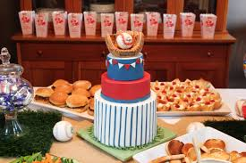 amazing decoration baseball baby shower ideas astounding a cake