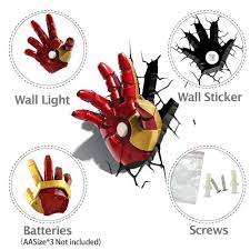 iron man hand wall light sticky digital undefined