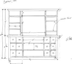 Furniture Sizes For Floor Plans Barbie Furniture Plans Tv Stand