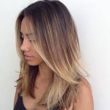 medium length hairstyles for hair parted in middle with bangs 80 brightest medium layered haircuts to light you up page 4