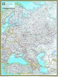 russia in maps european russia atlas wall map maps