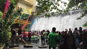 Villa Escudero Waterfall Restaurant At Villa Escudero Youtube