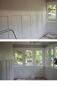 full wall wainscoting applique wainscoting www expertcrownmoulding