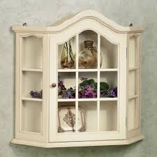 Oak Wall Mounted Display Cabinet Wall Mounted Cabinet With Glass Doors Fleshroxon Decoration