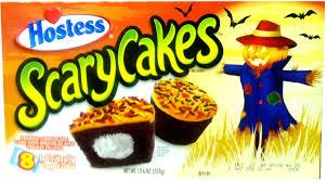 the holidaze hostess scary cakes