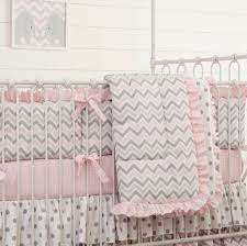 Nursery Bedding Sets Australia by Bedroom Soft Pink And Grey Chevron Baby Bedding Inspiration