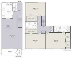 Floor Plans For Apartments 3 Bedroom by 2 U0026 3 Bedroom Townhomes And 1 U0026 3 Bedroom Apartments In
