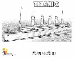 titanic coloring page swanky coloring page cruise ships free