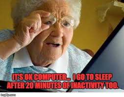 Grumpy Old Lady Meme - old lady at computer meme generator imgflip