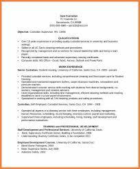 Sample Resume For Janitorial Position by Custodian Worker Resume Objective Sainde Org Custodian Resume