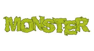 monster text scary lettering and typography green terrible